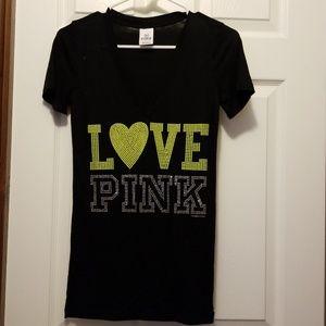 Victoria secret t-shirt w/bling